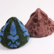 帽子作品 にくきゅうベレー