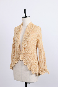 Wing lace cardigan