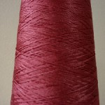 シルク100%糸 ワインピンク