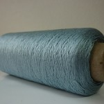 シルク100%糸 ライトブルー