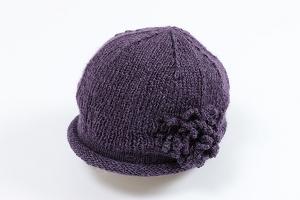 ベレー帽&コサージュ