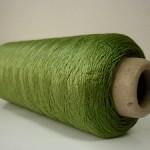 シルク100%糸 グリーン