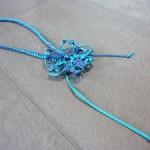 ネックレス エメラルド×ブルー